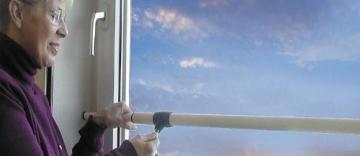 ABUS Fenstersicherung Tele-Z 100 W weiß, 23367 - 3