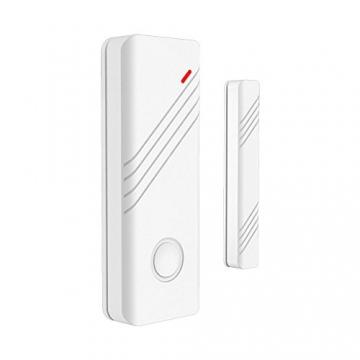 ERAY M2C GSM Funk Alarmanlage mit LCD Display, SMS und Anruf, APP und deutsche Anleitung, Alarmsystem Set mit 1 kabelgebundene Innensirene, 4 Bewegungsmelder und 9 Türkontakten, 2 Fernbedienung und 1 Solar Power Sirene - 4