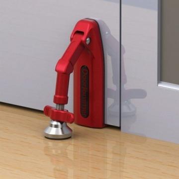 kh security Einbruchschutz Manuell (DoorJammer), rot, 370169 - 2