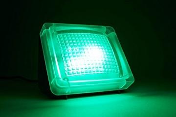 Movoja® Fernsehsimulator | LED-TV-Simulator | Einbruchschutz / Lichtsimulation | Mini-Fake-TV Fake-Fernseher | Fernsehlicht-Imitation | Attrappe gegen Einbrecher mit Lichtsensor und Timer - 5