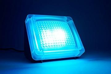 Movoja® Fernsehsimulator | LED-TV-Simulator | Einbruchschutz / Lichtsimulation | Mini-Fake-TV Fake-Fernseher | Fernsehlicht-Imitation | Attrappe gegen Einbrecher mit Lichtsensor und Timer - 6